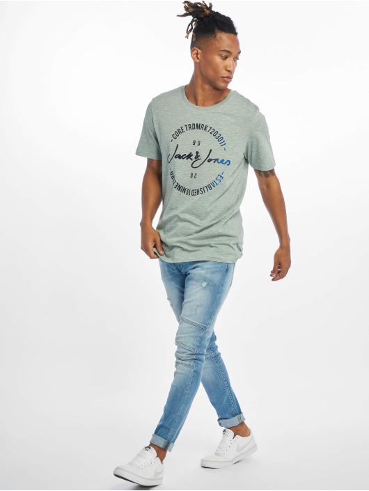 Jack & Jones T-Shirty jcoMick niebieski