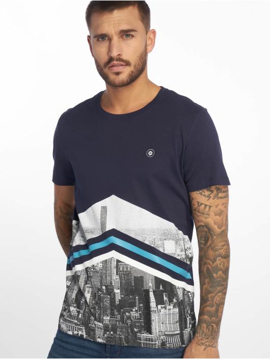 Jack & Jones T-Shirty jcoOval niebieski