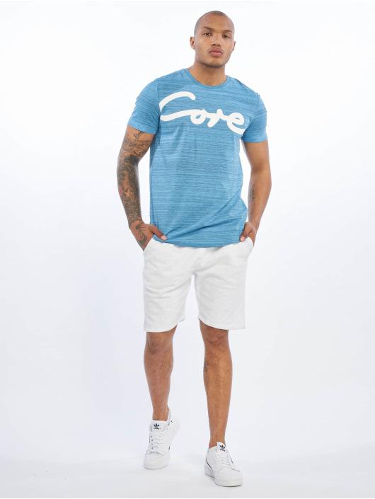 Jack & Jones T-Shirty jcoPainted niebieski