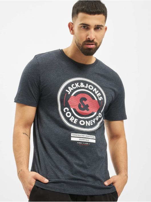 Jack & Jones T-Shirty jcoFebby niebieski