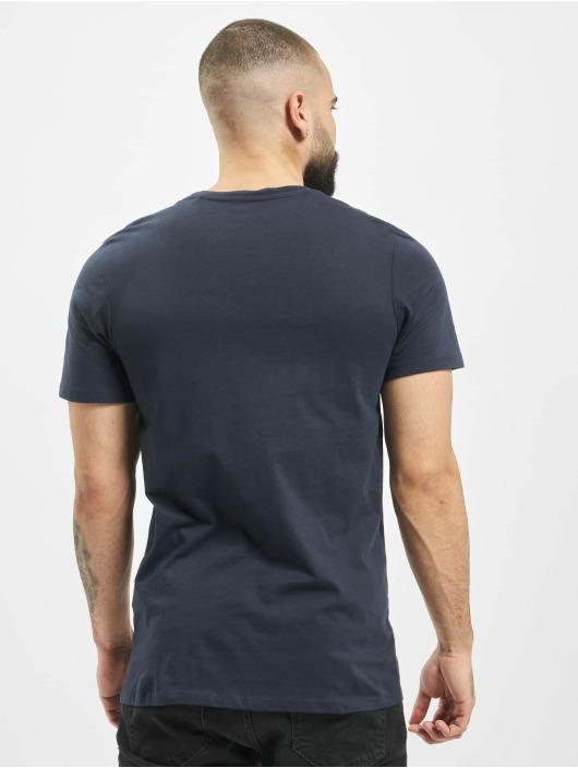 Jack & Jones T-Shirty jjeLog niebieski