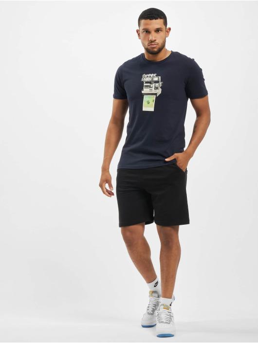 Jack & Jones T-Shirty jorBilly Organic Crew Neck niebieski