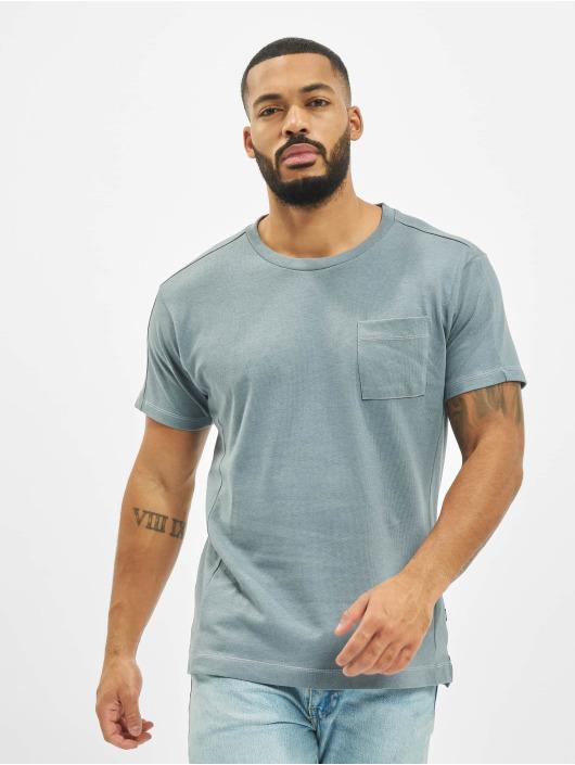 Jack & Jones T-Shirty jprAiden niebieski