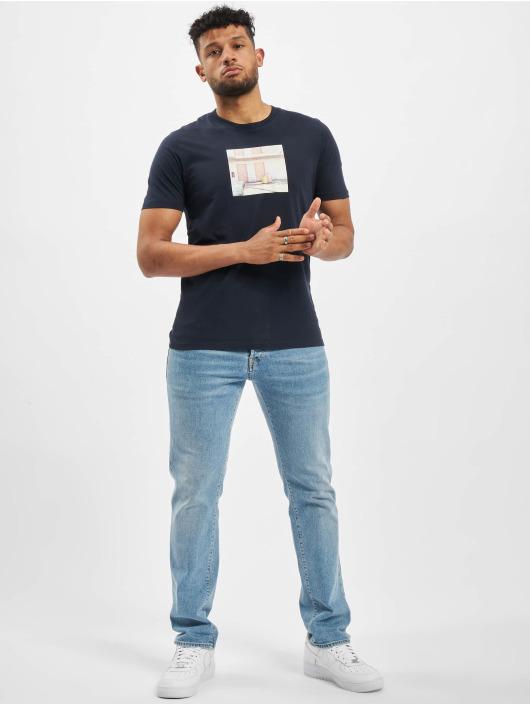 Jack & Jones T-Shirty jorDylant niebieski
