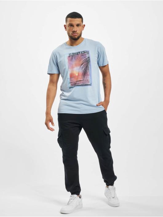 Jack & Jones T-Shirty jprZayn Bla. niebieski