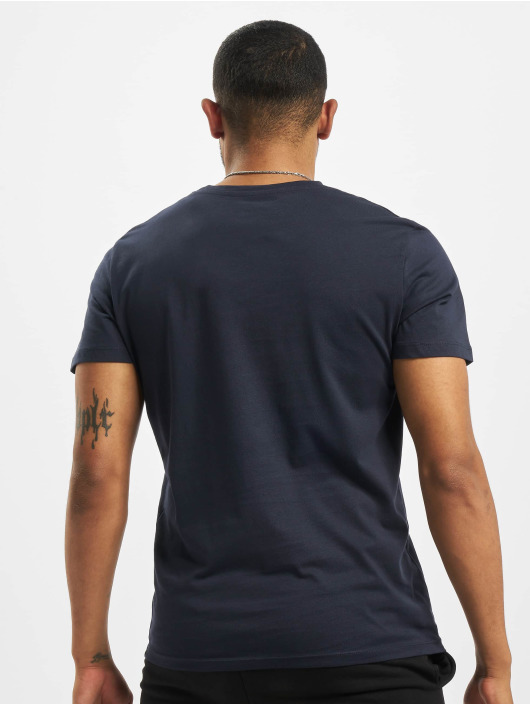 Jack & Jones T-Shirty orBilly Organic niebieski