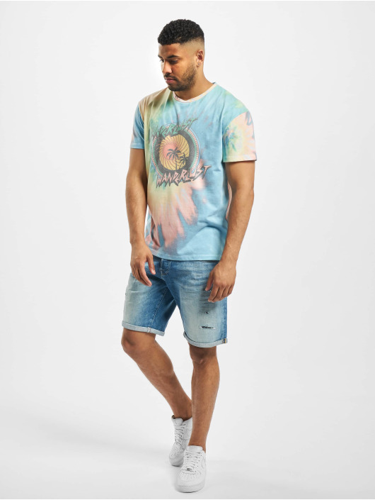 Jack & Jones T-Shirty jorWanderlust niebieski