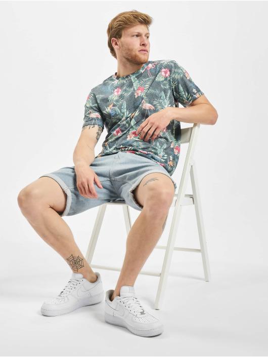 Jack & Jones T-Shirty jorTropicalbirds niebieski