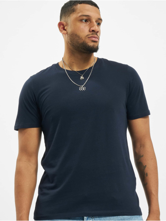 Jack & Jones T-Shirty jjeOrganic Basic Noos niebieski