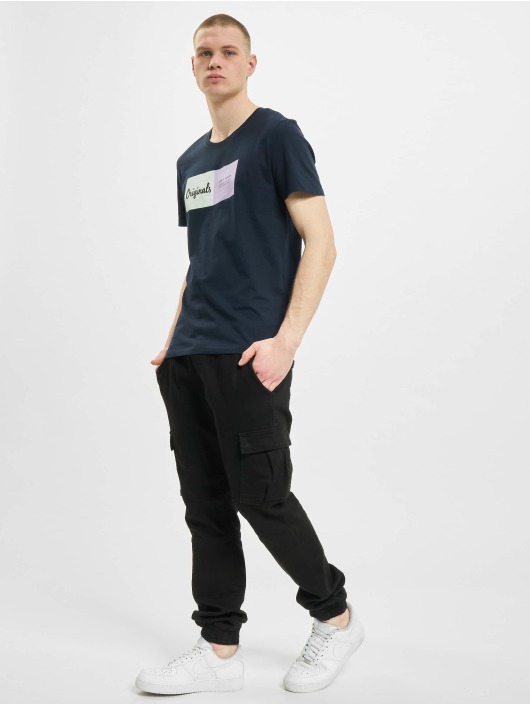 Jack & Jones T-Shirty jorJoshua niebieski