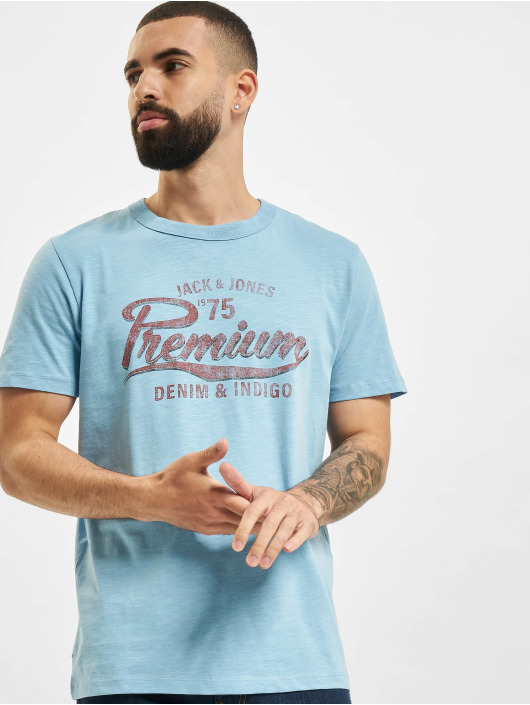 Jack & Jones T-Shirty JPR Bluedward STS niebieski