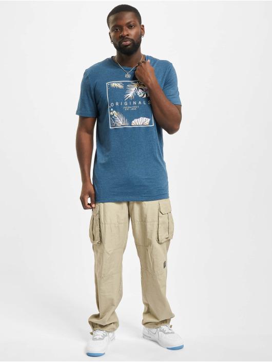 Jack & Jones T-Shirty Jorhaazy Crew Neck niebieski