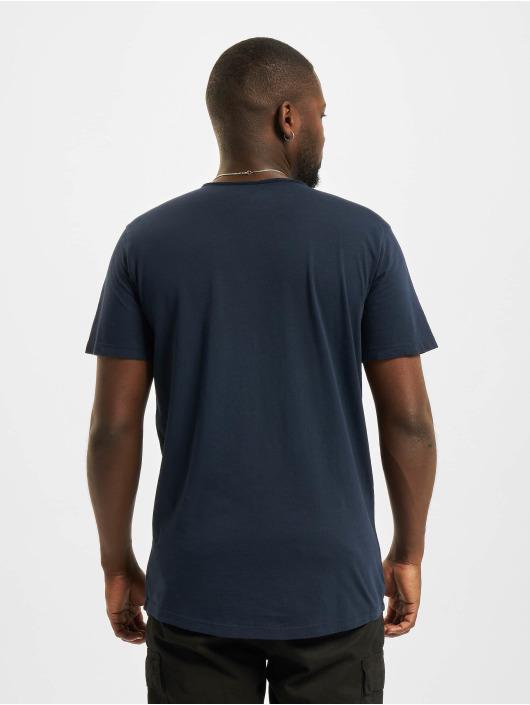 Jack & Jones T-Shirty Jjebasher O-Neck niebieski