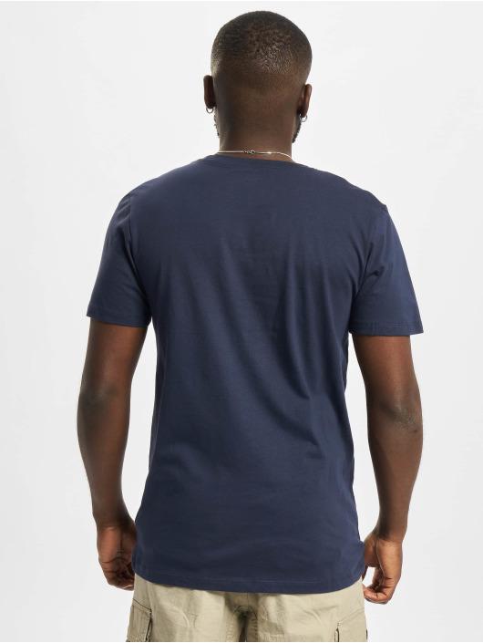 Jack & Jones T-Shirty Jcobilo Crew Neck niebieski