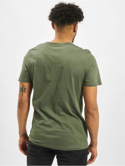 Jack & Jones T-Shirty jorHeat oliwkowy