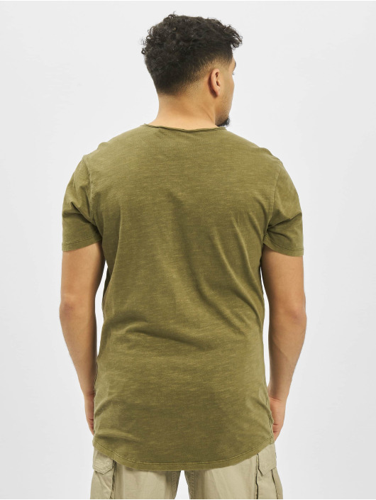 Jack & Jones T-Shirty jjeAsher O-Neck Noos oliwkowy