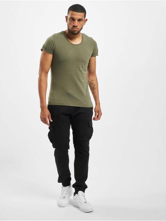 Jack & Jones T-Shirty jjeBas Noos oliwkowy