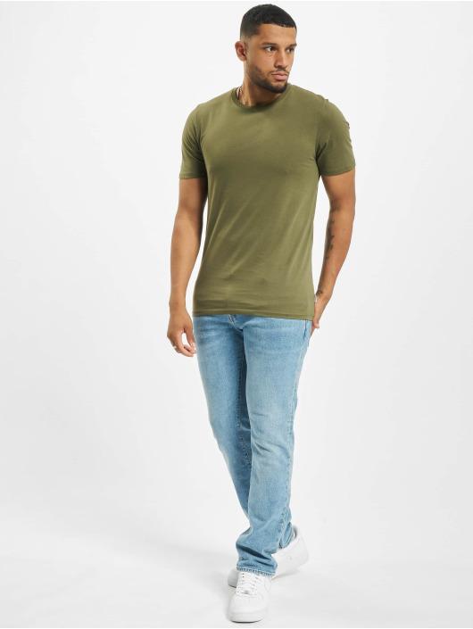 Jack & Jones T-Shirty jjeOrganic Basic Noos oliwkowy