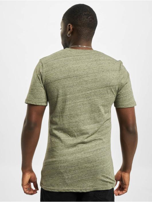Jack & Jones T-Shirty jjeMelange Noos oliwkowy