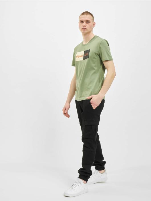 Jack & Jones T-Shirty jorJoshua oliwkowy