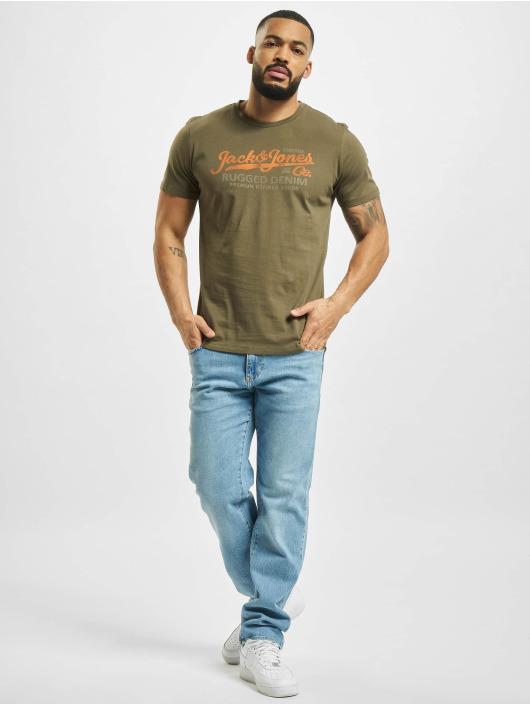 Jack & Jones T-Shirty jprBlustar oliwkowy