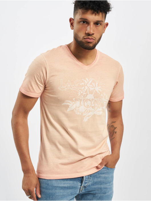 Jack & Jones T-Shirty jorAbre pink