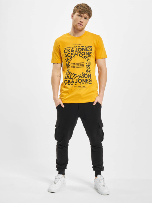 Jack & Jones T-Shirty jcoAke pomaranczowy