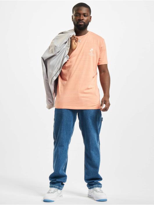 Jack & Jones T-Shirty Jorpoolside Crew Neck pomaranczowy