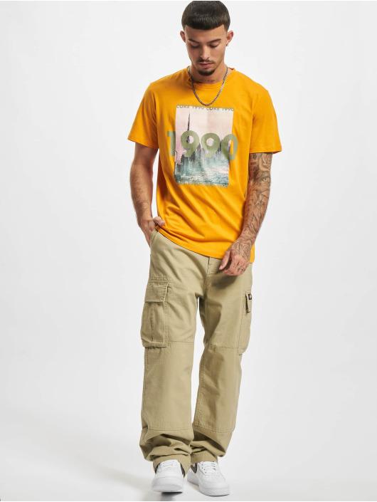 Jack & Jones T-Shirty Jcobooster pomaranczowy