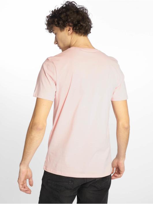 Jack & Jones T-Shirty jjePlain rózowy