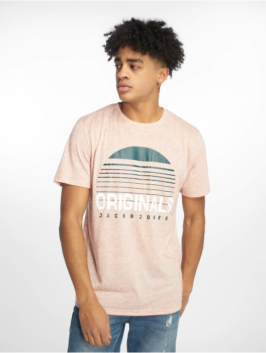 Jack & Jones T-Shirty jorRodo rózowy