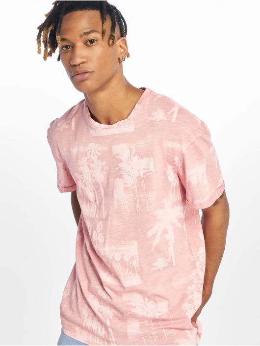 Jack & Jones T-Shirty jorPhotopalm rózowy