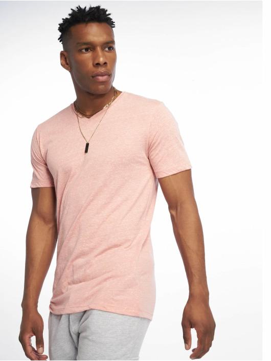 Jack & Jones T-Shirty jorMarbles rózowy