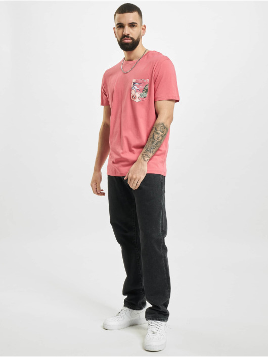 Jack & Jones T-Shirty jjPock rózowy