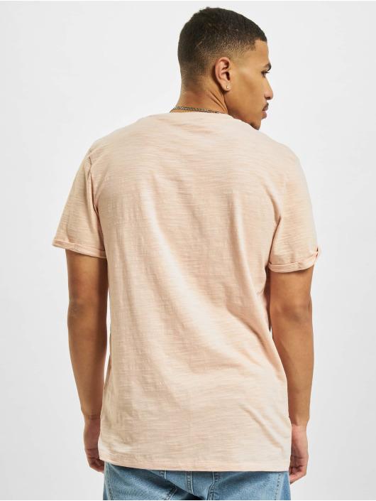 Jack & Jones T-Shirty Jprblabeach Embroidery rózowy
