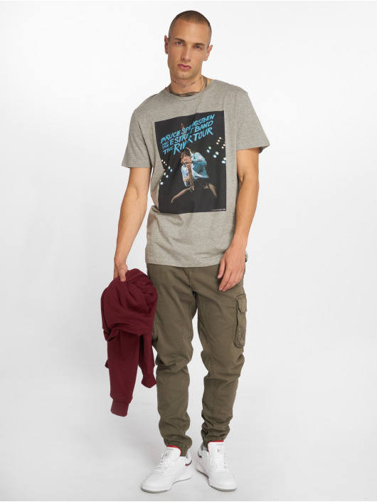 Jack & Jones T-Shirty jorRocked szary