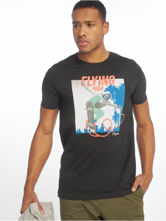 Jack & Jones T-Shirty jorArt Carnival szary