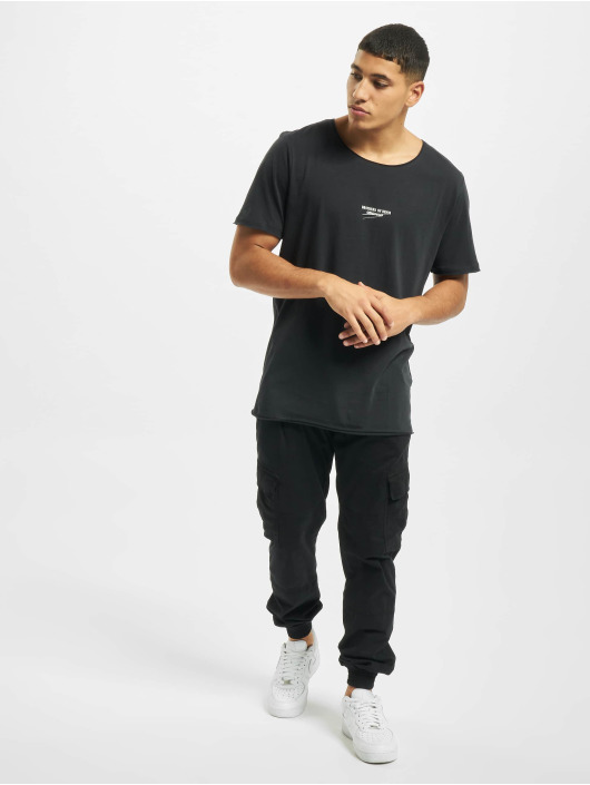 Jack & Jones T-Shirty jorSimon Crew Neck BLK szary