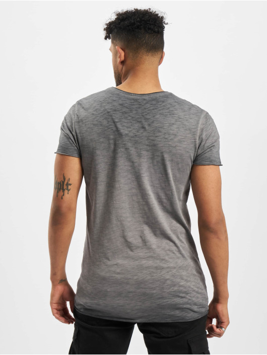 Jack & Jones T-Shirty jorBas Black szary