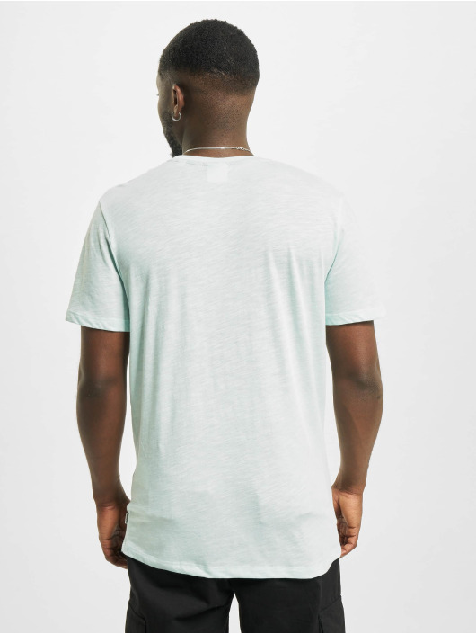 Jack & Jones T-Shirty jjDelight turkusowy