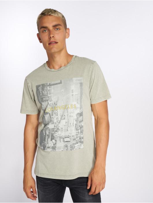 Jack & Jones T-Shirty jorCityAcid zielony