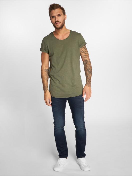 Jack & Jones T-Shirty jjeBas zielony