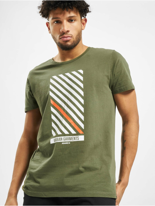 Jack & Jones T-Shirty jcoSoup zielony