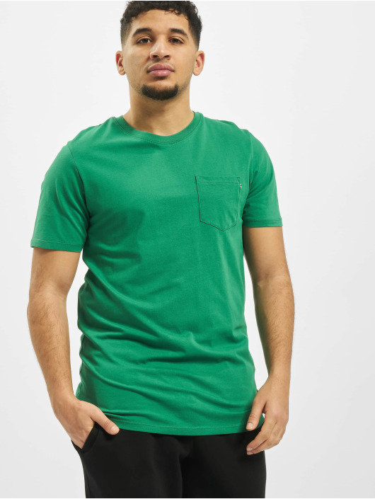 Jack & Jones T-Shirty jjePocket O-Neck Noos zielony