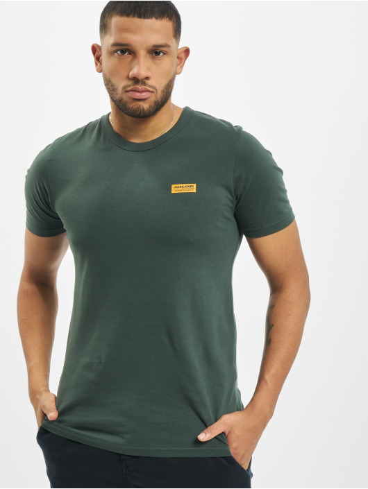 Jack & Jones T-Shirty jcoSignal zielony