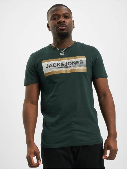 Jack & Jones T-Shirty jcoBooster zielony