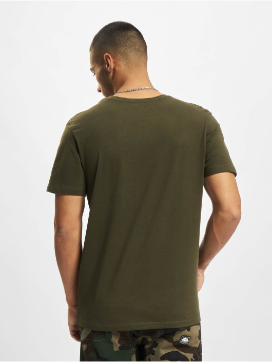 Jack & Jones T-Shirty Jjmula zielony