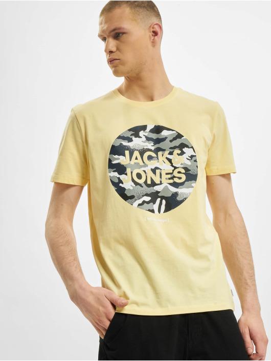 Jack & Jones T-Shirty jjPrime zólty