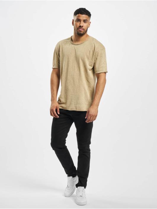 Jack & Jones T-skjorter jorFred beige