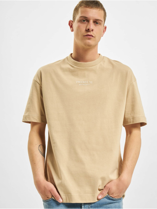 Jack & Jones T-skjorter JPR Blageo Box Fit beige